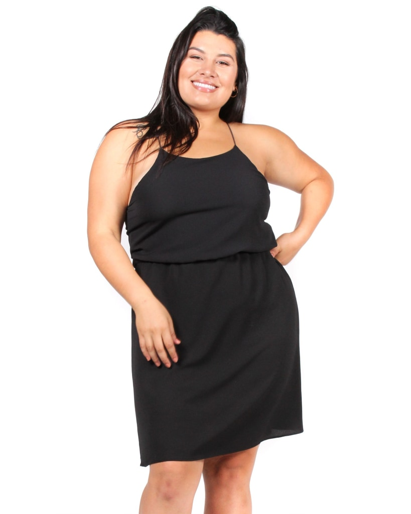 La Land Plus Dress 1X / Black Dresses