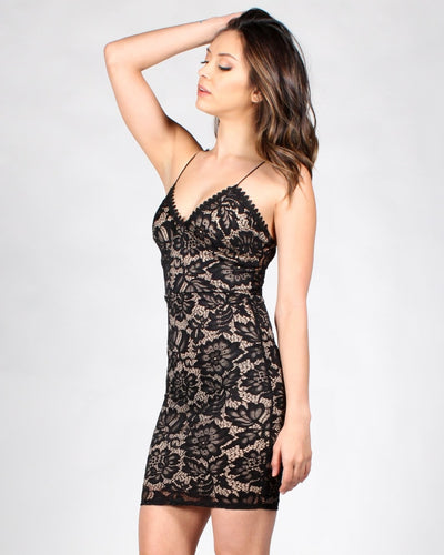 Lace Your Fears Bodycon Dress Dresses