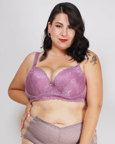 Lacely Distractions Plus Bra Dark Opal Purple / 38D
