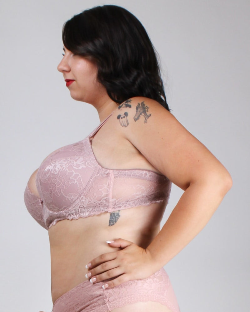 Lacely Distractions Plus Bra Bubblegum Pink / 38D