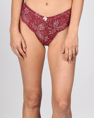 Lacely You Panties S / Wine Intimates