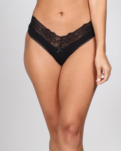 Lacy Days Panties S / Black Intimates