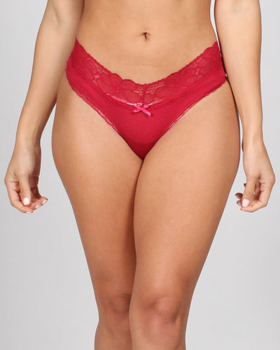 Lacy Days Panties S / Red Intimates