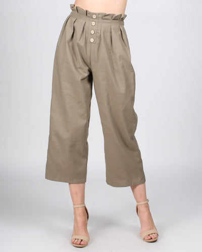 Let The Good Times Roll Pants S / Dusty Olive Bottoms
