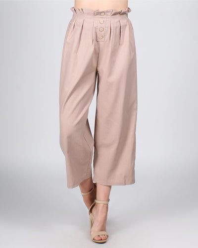 Let The Good Times Roll Pants S / Light Khaki Bottoms