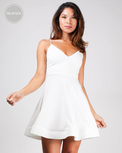 Life Is A Party Dress Off White / S Dresses