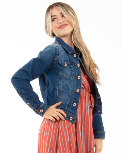 Livin On A Prayer Denim Jacket Outerwear