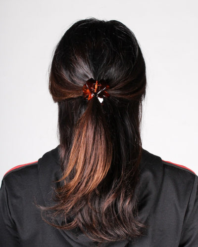 Love Hair Clip One / Brown Accessory