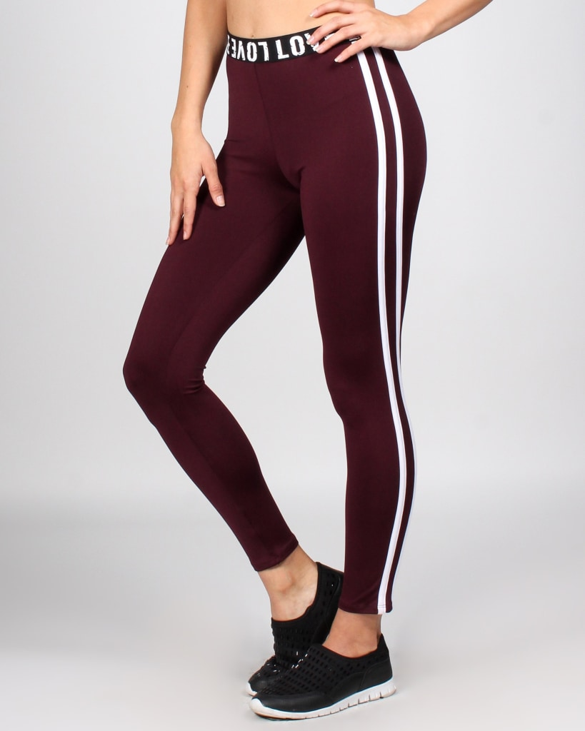 Love Is All Around Yoga Pants
