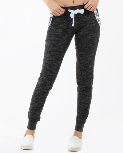 Love Pockets Jogger Pants S / Charcoal Bottoms