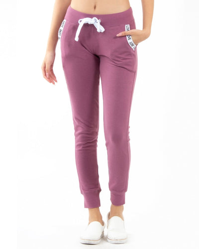 Love Pockets Jogger Pants S / Mauve Bottoms