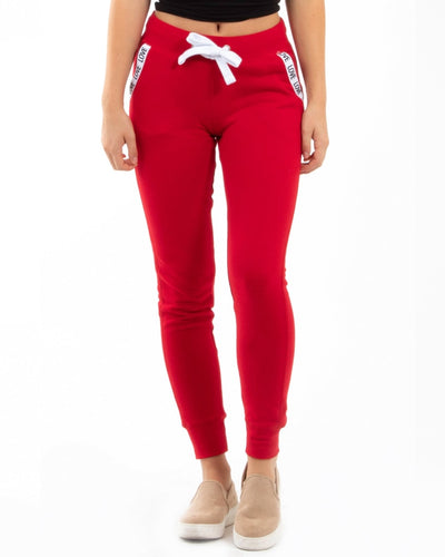 Love Pockets Jogger Pants S / Red Bottoms