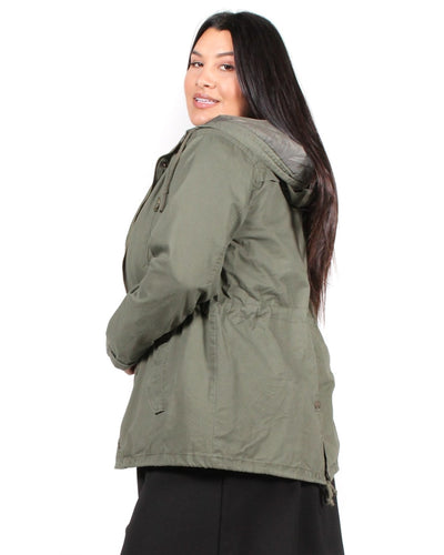 Love The Way You Look Parka Plus Jacket