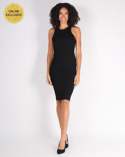 Master Of Style Bodycon Dress (Black) Black / S Dresses