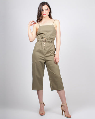 Meant To Be Jumpsuit S / Olive