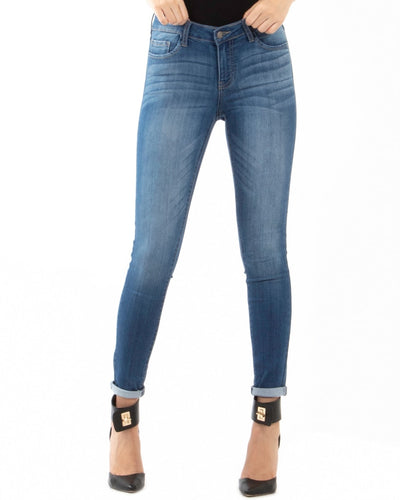 Mesmerized Mid-Rise Skinny Jeans 1 / Medium Bottoms