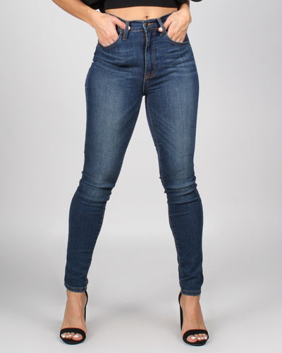 Moving Forward Skinny Jeans 1 / Dark Wash Bottoms