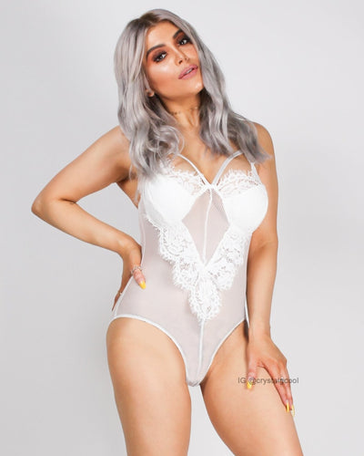 My Heart Chose You Bodysuit White / S