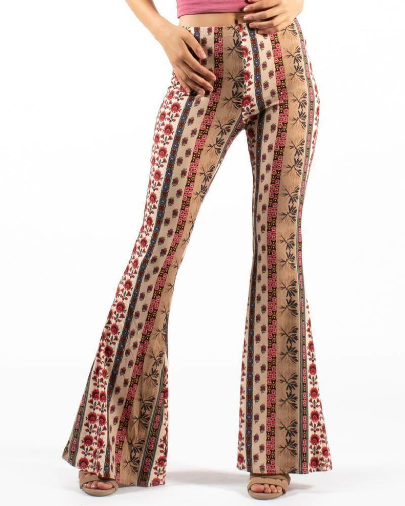 Mystic Journey Bell Bottom Pants S / Boho