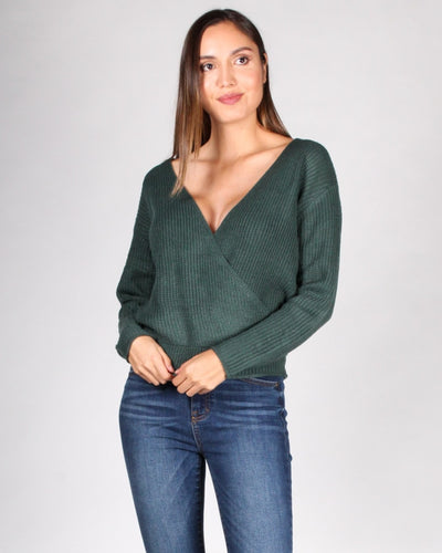Need This Now Knit Sweater S / Pine Green