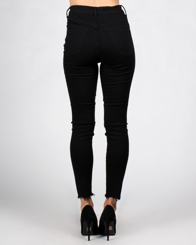 Never Go A-Fray Skinny Jeans Bottoms