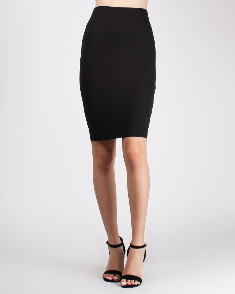 On Point Pencil Skirt Black / S Bottoms