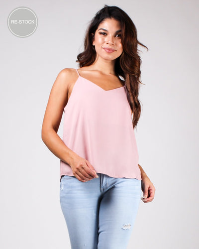 One Day At A Time Blouse Blush / S Tops