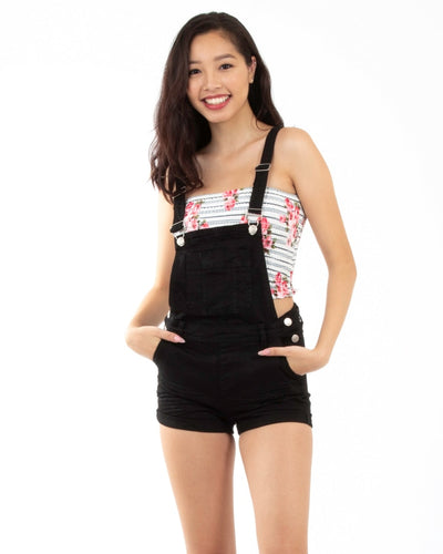 Over You Overalls S / Black