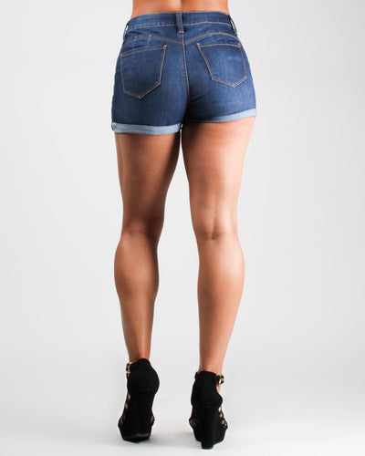 Places To Go High Waisted Shorts Bottoms
