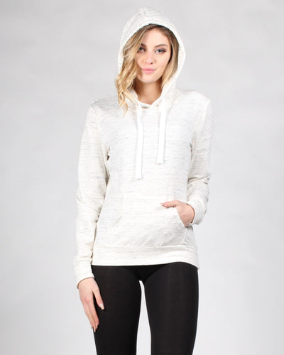 Reaching For The Top Hooded Sweater S / Oatmeal Tops