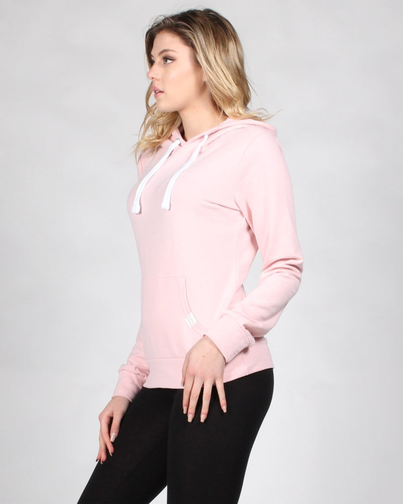 Reaching For The Top Hooded Sweater S / Blush Tops