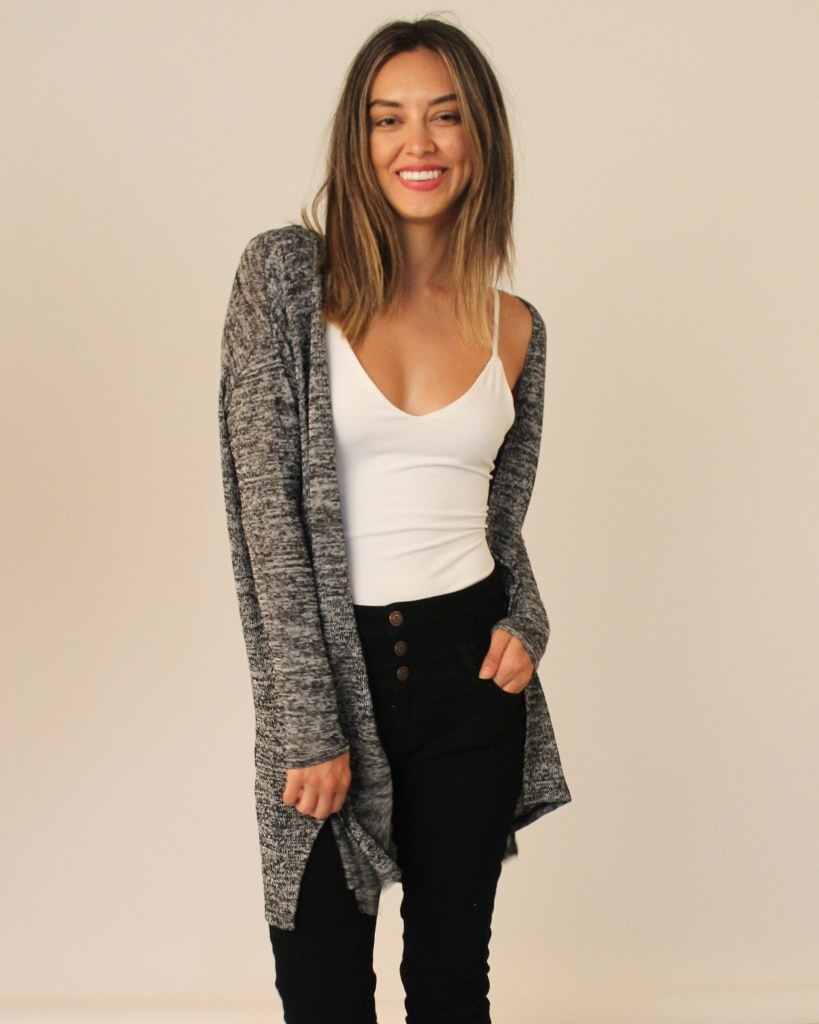 Ready For Fall Cardigan S / Feathered Grey