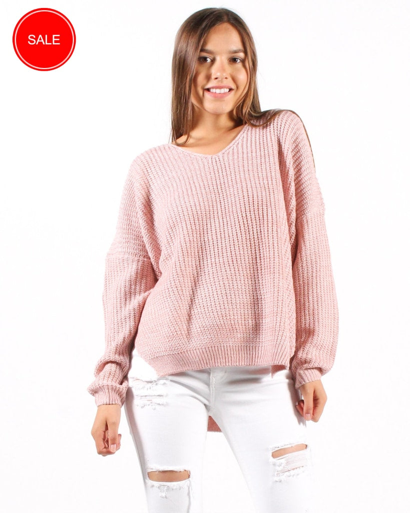 Remix And Blend Sweater S/m / Pink