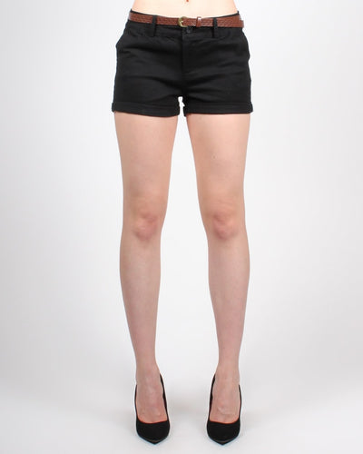 Road Less Traveled Shorts S / Black Bottoms