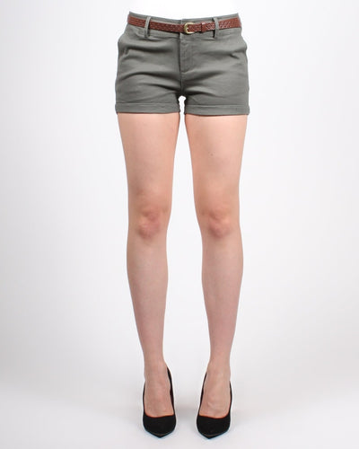 Road Less Traveled Shorts S / Olive Bottoms