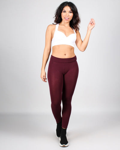 Savasana Leggings S / Maroon