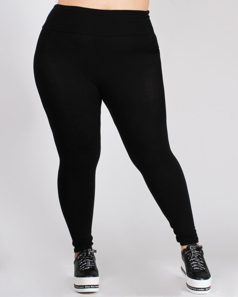 Savasana Plus Leggings Bottoms