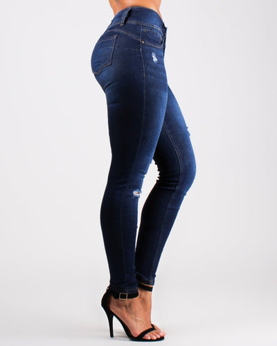 Say Yes To New Adventures Skinny Jeans Bottoms