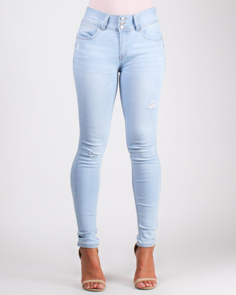 Say Yes To New Adventures Skinny Jeans Light / 0 Bottoms