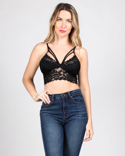 Sheer Pleasure Bralette S / Black Intimates