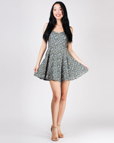 Shine Bright Floral Sundress Dresses