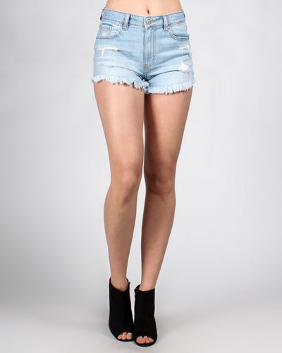 Show Them Sexy Legs Short Shorts Xs / Light Bottoms