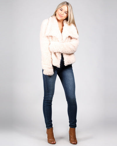 So Fluffing Cute Faux Fur Jacket Outerwear