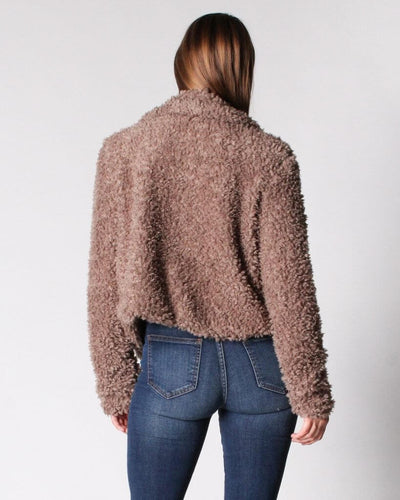 So Fluffing Cute Faux Fur Jacket