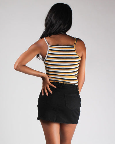 Soul Full Of Sunshine And Stripes Top Bottoms