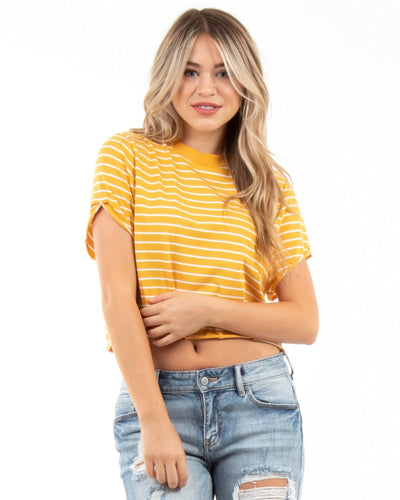 Striped Haze S / Mustard