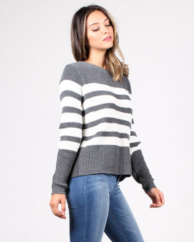 Stripes R Us Sweater Tops