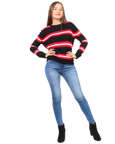 Sweet Stripes Of Mine Sweater