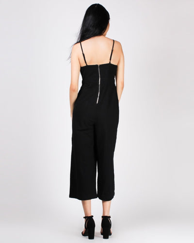 Take Me Or Leave Me Knotted Bliss Jumpsuit