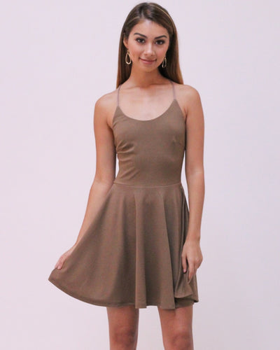 The Ballerina Dress S / Mocha Dresses